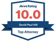 Orlando Immigration Attorney David Hill Received the Top Attorney AVVO Award